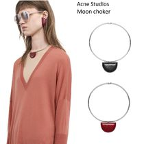 ACNE Moon choker bordeaux /black ムーンチョーカー2色