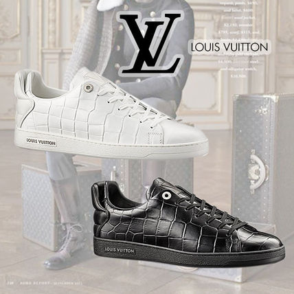 Louis Vuitton(ルイヴィトン) Frontrow レザースニーカー 2色