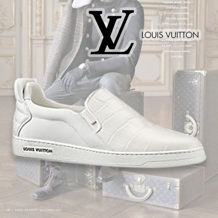 Louis Vuitton(ルイヴィトン) Frontrow レザー スリッポン