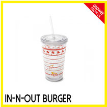 【IN-N-OUT】カリフォルニア限定☆バーガーSHOP クリアカップ
