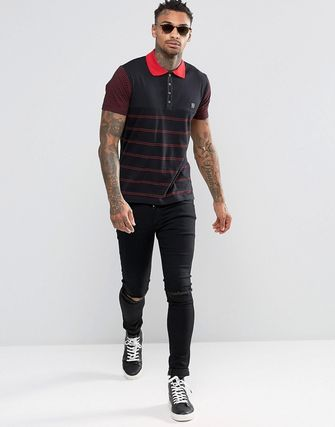Diesel T-Mother Jersey Stripe Polo