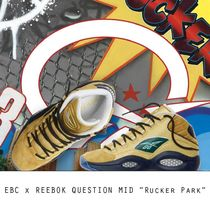 "EBC x REEBOK QUESTION MID""Rucker Park"" ""ラッカー パック"""