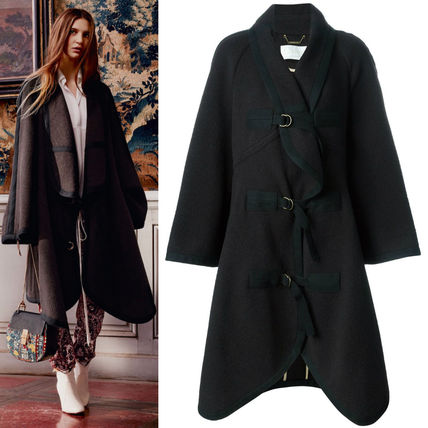 16-17AW C120 LOOK19 WOOL BLANKET COAT