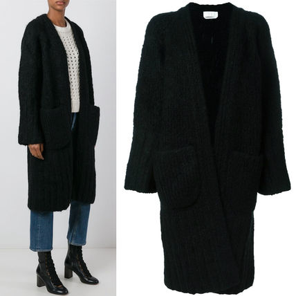 16-17AW C125 CHUNKY KNIT LONG CARDIGAN
