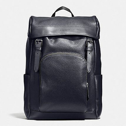 Coach バックパック・リュック 【COACH】コーチ★HENRY BACKPACK IN PEBBLE LEATHER(12)