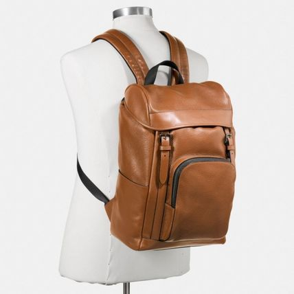 Coach バックパック・リュック 【COACH】コーチ★HENRY BACKPACK IN PEBBLE LEATHER(5)