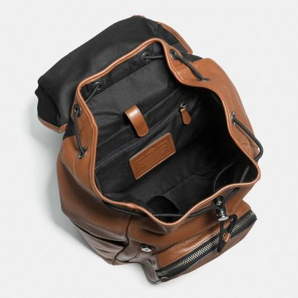 Coach バックパック・リュック 【COACH】コーチ★HENRY BACKPACK IN PEBBLE LEATHER(6)