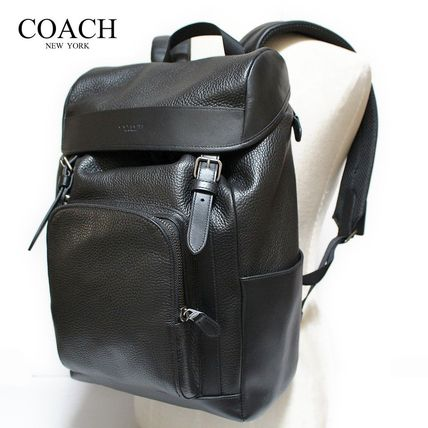 Coach バックパック・リュック 【COACH】コーチ★HENRY BACKPACK IN PEBBLE LEATHER(9)