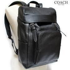 Coach バックパック・リュック 【COACH】コーチ★HENRY BACKPACK IN PEBBLE LEATHER(10)