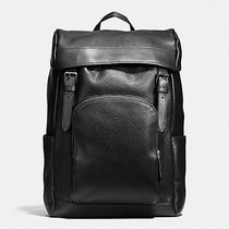 【COACH】コーチ★HENRY BACKPACK IN PEBBLE LEATHER