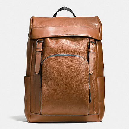 Coach バックパック・リュック 【COACH】コーチ★HENRY BACKPACK IN PEBBLE LEATHER(2)