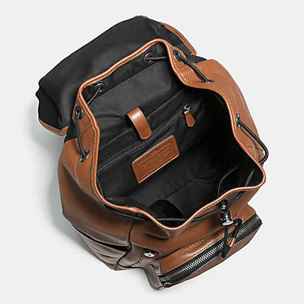 Coach バックパック・リュック 【COACH】コーチ★HENRY BACKPACK IN PEBBLE LEATHER(4)