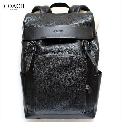 Coach バックパック・リュック 【COACH】コーチ★HENRY BACKPACK IN PEBBLE LEATHER(7)