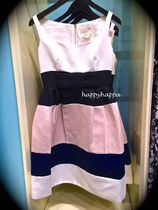 【kate spade】 リボンが可愛いcolorblock satin faille dress☆