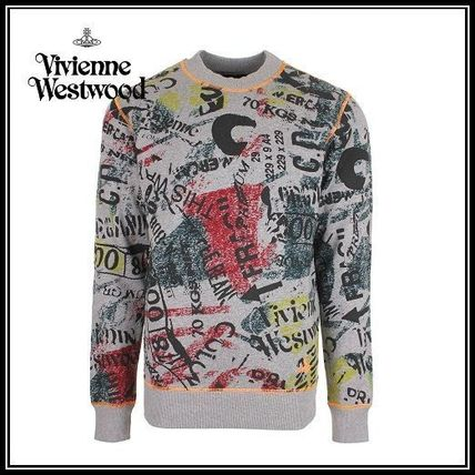 【新作】Vivienne Westwood*Newspaper Rubbish スウェット