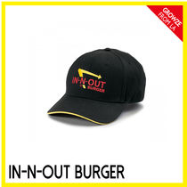 IN-N-OUT(インアンドアウト) キャップ 【IN-N-OUT】カリフォルニア限定☆ハンバーガーSHOP キャップ