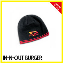 IN-N-OUT(インアンドアウト) 帽子その他 【IN-N-OUT】カリフォルニア限定☆ハンバーガーSHOP ニット帽MEN