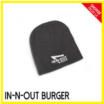 IN-N-OUT(インアンドアウト) 帽子・その他 【IN-N-OUT】カリフォルニア限定☆ハンバーガーSHOP ニット帽