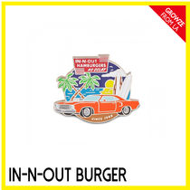 IN-N-OUT(インアンドアウト) ファッション雑貨・小物その他 【IN-N-OUT】カリフォルニア限定☆バーガーSHOP ピンバッチ