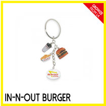 IN-N-OUT(インアンドアウト) ファッション雑貨・小物その他 【IN-N-OUT】カリフォルニア限定☆バーガーSHOP キーチェーン