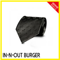 IN-N-OUT(インアンドアウト) ネクタイ 【IN-N-OUT】カリフォルニア限定☆シルク パームツリー ネクタイ