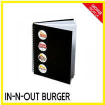 IN-N-OUT(インアンドアウト) ノート 【IN-N-OUT】カリフォルニア限定☆ハンバーガーSHOP ノート