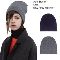 ACNE Kape double layer beanie ダブルレイヤー冬キャップ 2色