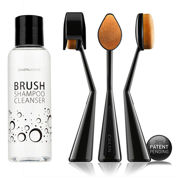 O! WOW BRUSH (CAILYN) + ブラシシャンプー (Coastal Scents)