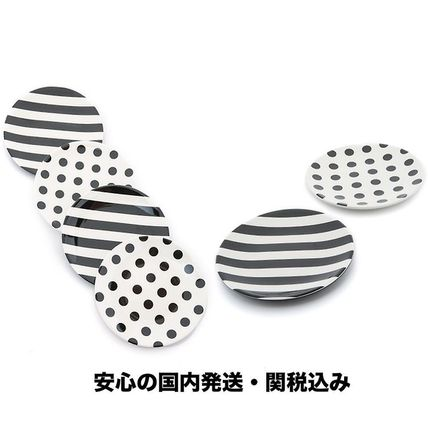 国内発送★Kate Spade ☆Raise a Glass Tidbit Plate Set