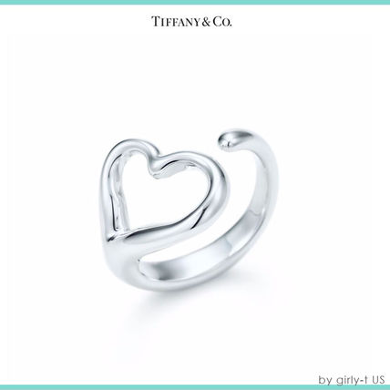 【Tiffany & Co】OPEN HEART RING オープンハート 指輪