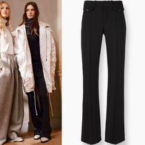 16-17AW C143 LOOK12 STRETCH WOOL FLARE PANTS