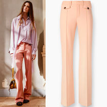 16-17AW C144 STRETCH WOOL FLARE PANTS
