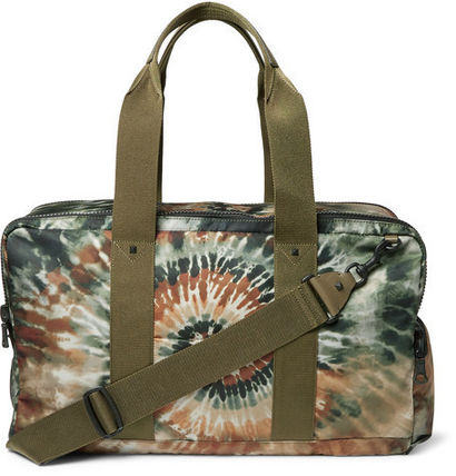Studded Tie-Dyed Canvas Holdall スタッズタイダイバッグ