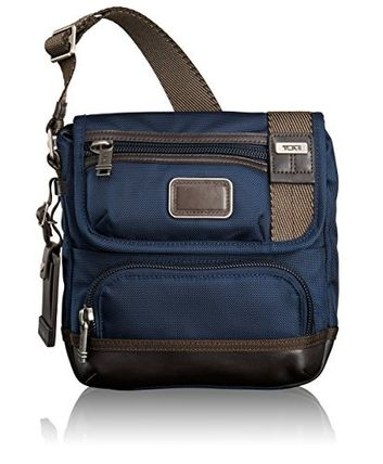 TUMI トゥミ Alpha Bravo Barstow Crossbody_ Navy ビジネス