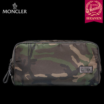 TOPセラー賞!16/17秋冬┃MONCLER★BEAUTY CASE|カーキグリーン