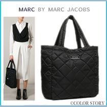 【Marc Jacobs】欲しい!即発●通勤通学&旅行に♪●キルト トート
