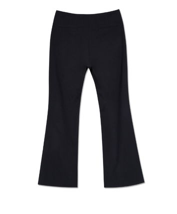 ANDERSSON BELL パンツ ★ANDERSSON BELL(アンダースンベル)★Silvia Slit Pants -BLACK(10)