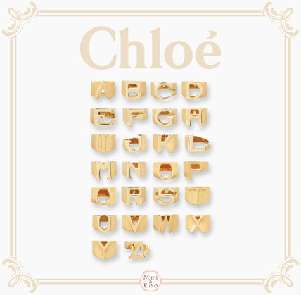 Chloe gifts too perfect ALPHABET * initial ring