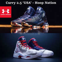 "【OLYMPIC】 UA アンダーアーマー CURRY 2.5 ""USA"" Hoop Nation"