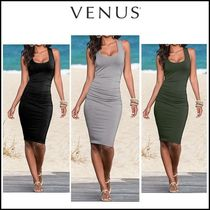 Venus*RUCHED TANKDRESS(3色)