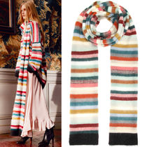 16-17AW C159 LOOK20 LONGLINE STRIPED SCARF IN BRUSHED MOHAIR