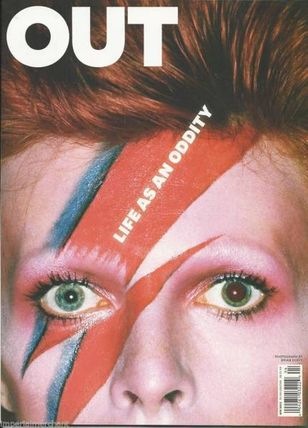 David Bowie Out Mag US magazine 2013 David Bowie
