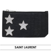 ☆Saint Laurent☆LEATHER CALIFORNIA CARD HOLDER≪関税/送込≫