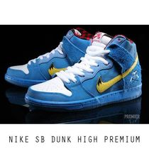 "FAMILIA X NIKE SB DUNK HIGH ""BLUE OX"" 日本未発売"