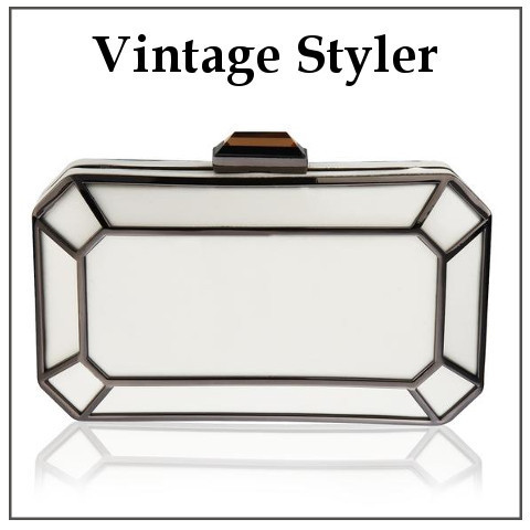 Vintage Styler◆Amber 1920's Style デコ  クラッチバック