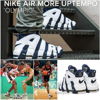 """NIKE AIR MORE UPTEMPO """"OLYMPIC"""" / Pippen /"""