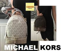 セレブ愛用人気★Michael Kors ☆Rhea Zip Extra Small Studded