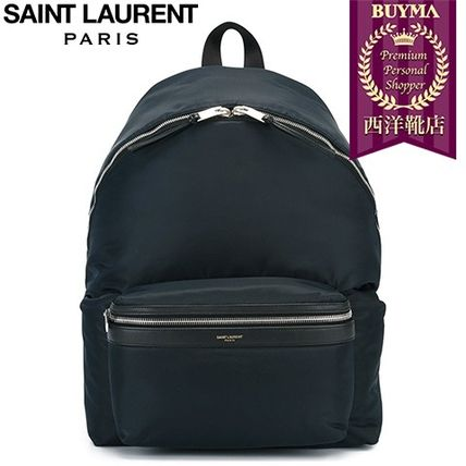 16/17秋冬入荷!┃SAINT LAURENT┃'HUNTING' BACKPACK ┃1158449