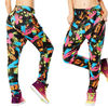 新作♪ズンバDa Zumba Funk Harem Dance Pants-Armed and Ready