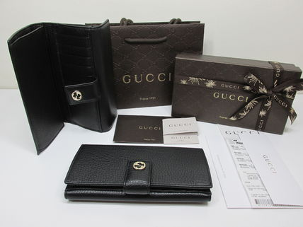 GUCCI★セール★Miss GG leather continental wallet